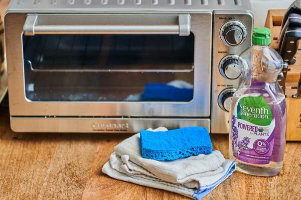Clean Air Fryer Toaster Oven